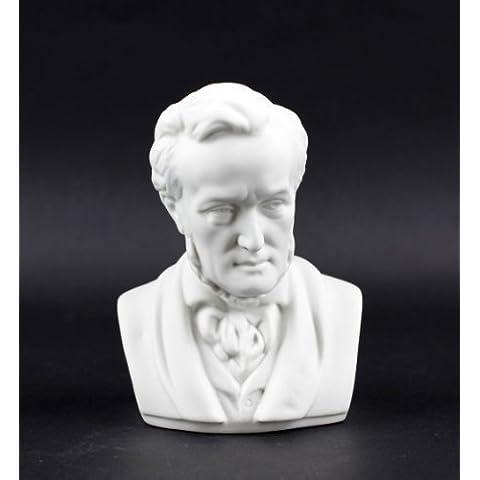 Pequeña Porcelana Busto Richard Wagner
