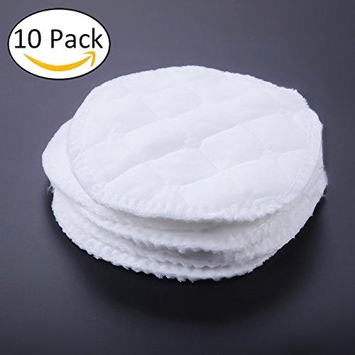 Enfermería almohadillas, almohadillas de lactancia orgánicos 10pcs/lot lavable a prueba de fugas Ultra suave alimentación lactancia materna pad