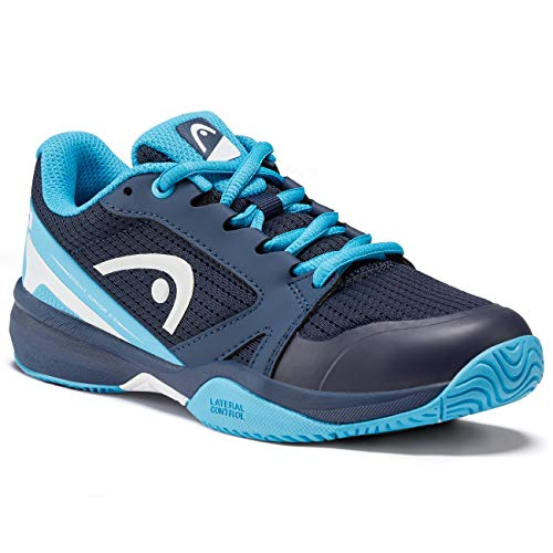 Head Sprint 2.5 Junior Zapatos de Tenis, Niño, Azul Dark Blue/Aqua, 32 EU