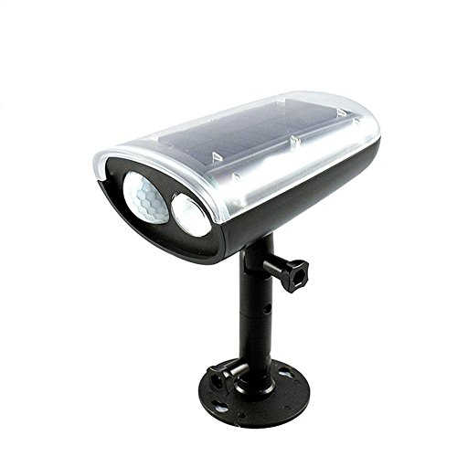 HomJo Solar LED Garden Spotlight Solarenergie menschlichen Körper Induktionslampe super helle LED Außenwand Projektionslampe Hause Korridor Korridor Lichter