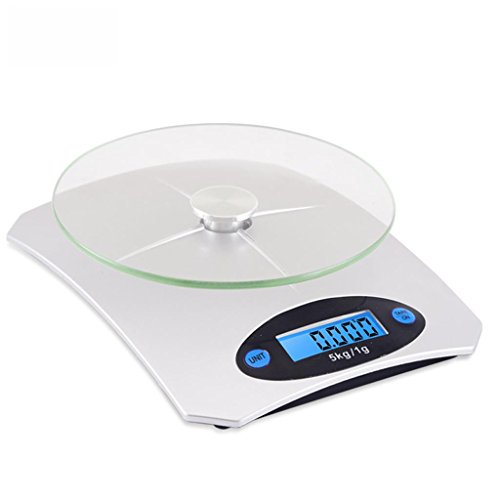Juwel-gewichts-skala (Präzisions-Küchenwaagen Haushalt Elektronische Wiegen Mini-Juwel Skalen 5kg Backen Lebensmittel Tee mit einem Gewicht von 0.1g)