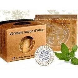 Alepia Set 2 Pezzi Sapone D'Aleppo 25% Olio Di Alloro 190 G