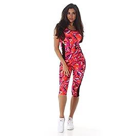 1b07fb1455a0 Blanco Store – Completo Sportivo Donna Set Leggings E Canotta Vogatore  Running Yoga Palestra Fitness ...