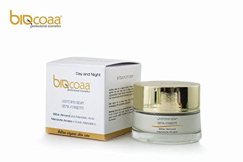 Erbe Natürliche (Gesichtscreme speziell für die dunkle Flecke aufhellende - dermatologisch getestet - natürlich made in Italy Kosmetik - 50 ml)
