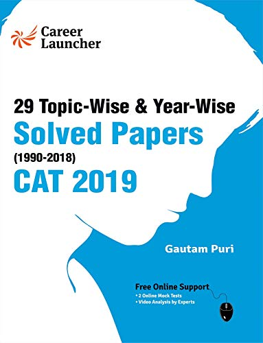 CAT 29 Topic-wise & Year-wise Solved Papers 1990-2018