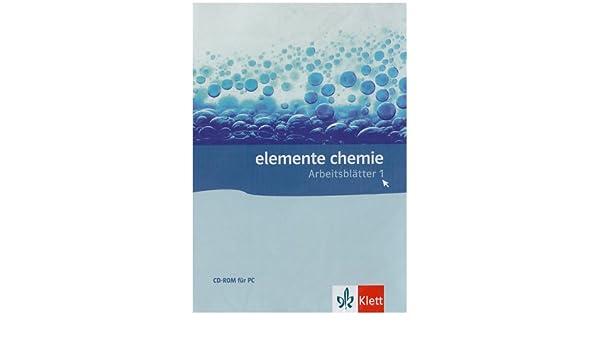 Elemente Chemie Arbeitsblätter, Kopiervorlagen auf CD-ROM: Amazon.de ...