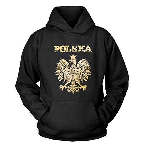 Polska Kapuzenpullover Size S