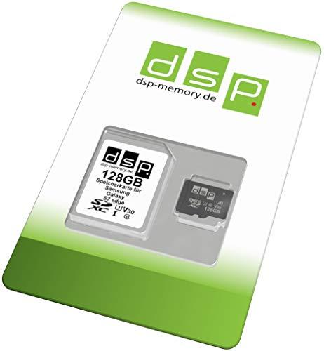 DSP Memory 128GB Speicherkarte (A1, V30, U3) für Samsung Galaxy S7 Edge