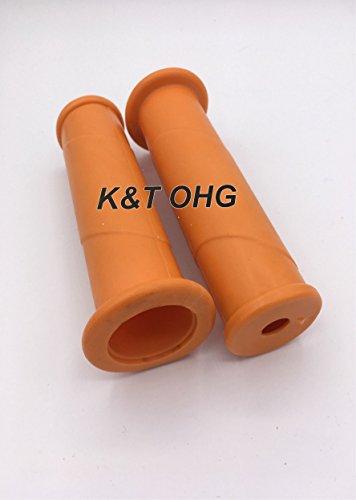 Schubkarrengriffe 32 mm 2 Stück/1 Paar orange