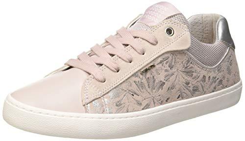 Geox Mädchen J Kilwi Girl E Sneaker, Pink (Rose C8011), 36 EU