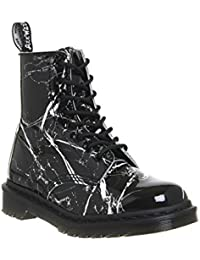 Dr. Martens Pascal Mrbl Black Patent Marble 21442071, Boots