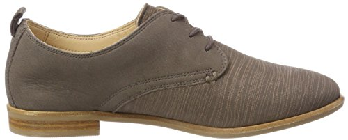 Clarks Alice Mae, Zapatos Brooke Brouge Mujer Gris (taupe Combi)