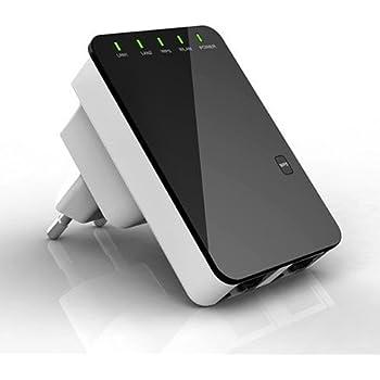 WLAN 300Mbit Repeater mit WPS Button: Amazon.de: Computer