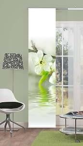 Panneau coulissant décoratif Opaque EVRY Taille BxH 60x 245cm