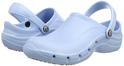 Toffeln - Eziklog - Chaussures de sécurité mixte adulte, Violet (Purple), 41 Bleu (Light Blue)