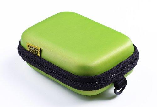 CrazyCase Hardcase für Kompaktkamera metallic-limette