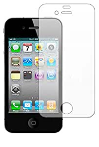 iPro Screen Protector with Cleaning Cloth for New Apple iPhone 4/iPhone 4S (Pack of 10)
