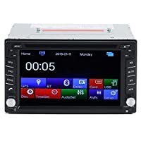 Universal 6.2-Inch Double-2 DIN DVD player without GPS Navigation