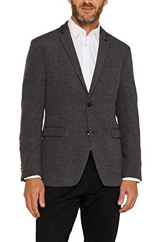 ESPRIT Herren 089Ee2G005 Blazer, Grau (Dark Grey 020), (Herstellergröße: 50)