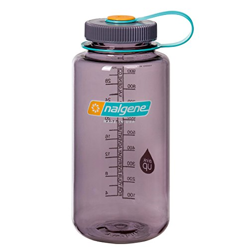 Nalgene Klassiker WH Trinkflasche aubergine grau 1 Liter