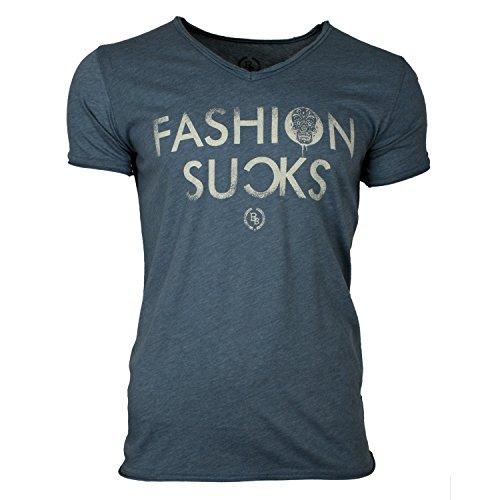 Boom Bap T-Shirt FSUCKS Indigo