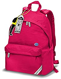 62644d8399 Zaino Americano Smemoranda SOB Rosa 24L con Giacca Antipioggia zaino scuola  tempo libero palestra 43x42x18cm impermeabile