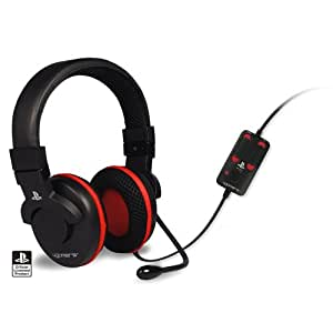 PS3 Officially Licensed 4Gamers Gaming Headset - COM PLAY PRO