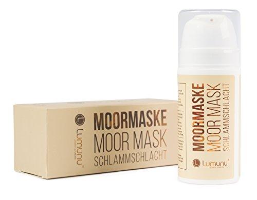 Lumunu Deluxe Moor Maske Schlammschlacht, Detox Gesichtsmaske gegen Hautunreinheiten