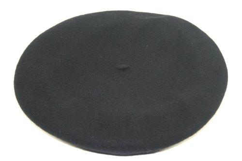 Balke Herren Baskenmütze Barett, Farbe:schwarz, Größe:58