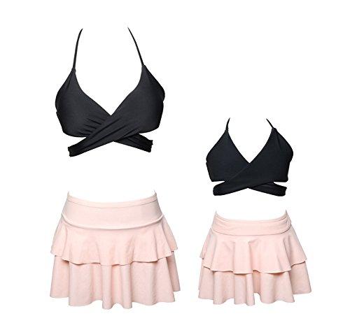 Passende Familienoutfits Sammlung Hier Eine Schulter Rüsche Badeanzug Mutter Tochter Familie Hohe Taille Bikini Bademode S-xl Rabatte Verkauf