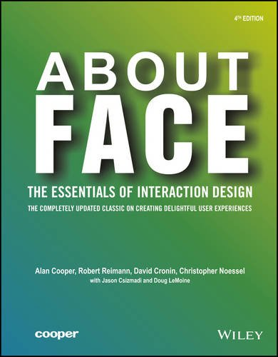 About Face: The Essentials of Interface Design, 4ed (WILEY)
