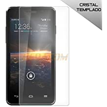 BEDACOM®- Protector de pantalla cristal templado para Vodafone Smart 4 Turbo
