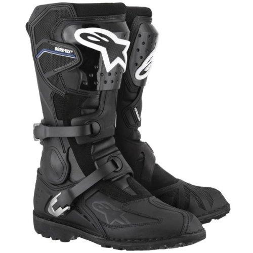 Stiefel - Boots - Motorradstiefel - Alpinestars / Toucan Core-Tex in schwarz, - Akkordeon-unterstützung