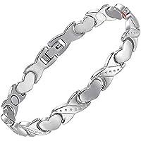 Damen Magnetisch bracelets-various sizes-ladies Magnetische Armbänder für Arthritis Karpaltunnelsyndrom Sehnenscheidenentzündung... preisvergleich bei billige-tabletten.eu