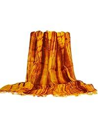 Écharpe en soie, coloré, nouvelle, soie fait à la main