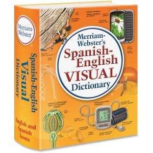 Unbekannt Merriam-Webster-Spanisch-Englisch Visual Wörterbuch, Paperback, 1152Seiten mer292-5