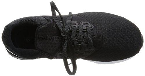 adidas Falcon Elite 5 W, Chaussures de Running Entrainement Femme Noir / blanc (noir essentiel / noir essentiel / gris foncé)