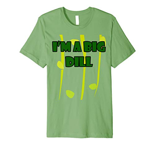 I 'm a Big Dill Halloween Pickle Kostüm T-Shirt