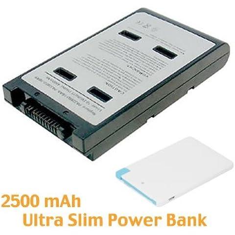 Battpit Batteria per notebook Toshiba Tecra A8 Series (4400 mah)