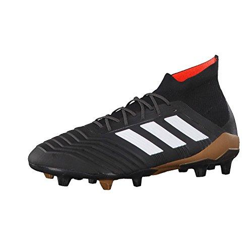 Hombre Negro Predator Adidas Fútbol 18 Botas Blanco 1 Fg SYOp0SxZ