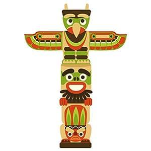 Stickasticker-Adesivo per bambini: totem, 99 x 139 cm