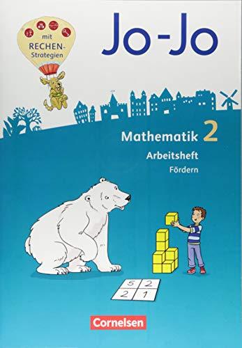 Jo-Jo Mathematik - Allgemeine Ausgabe 2018: 2. Schuljahr - Arbeitsheft Fördern