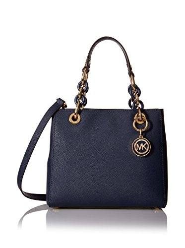 michael-kors-cynthia-small-north-south-satchel-navy