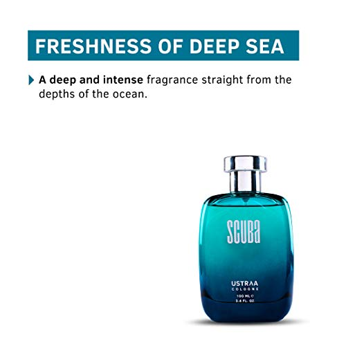 Ustraa Cologne - Scuba for Men, 100 ml