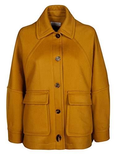 Alberto Biani Luxury Fashion Damen PP850W003764 Gelb Mantel   Herbst Winter 19 11