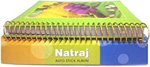 NATRAJ Gupta Fancy Store Paper Auto Stick Sheet Album (11 x 13 inch, Green)