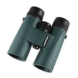 Polaris Optics NaturePro HD 8X42 Official Bird Watching Binoculars. Fully Multi-Coated to Create Vivid Color Clarity and Brightness Up Close or Far Away. Waterproof. Wide Field of View. Close Focus