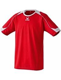 erima Santiago - Camiseta de fútbol de manga corta para niño rojo rojo/blanco Talla