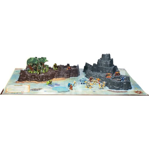 Giochi Preziosi 7323�Gormiti Accessory Figurine Playset Exclusive Island of Gorm with 3�Figures