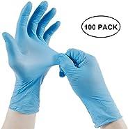 Adeptt Mediline Series Nitrile Powder-free Hand Gloves Medium - Pack of 100